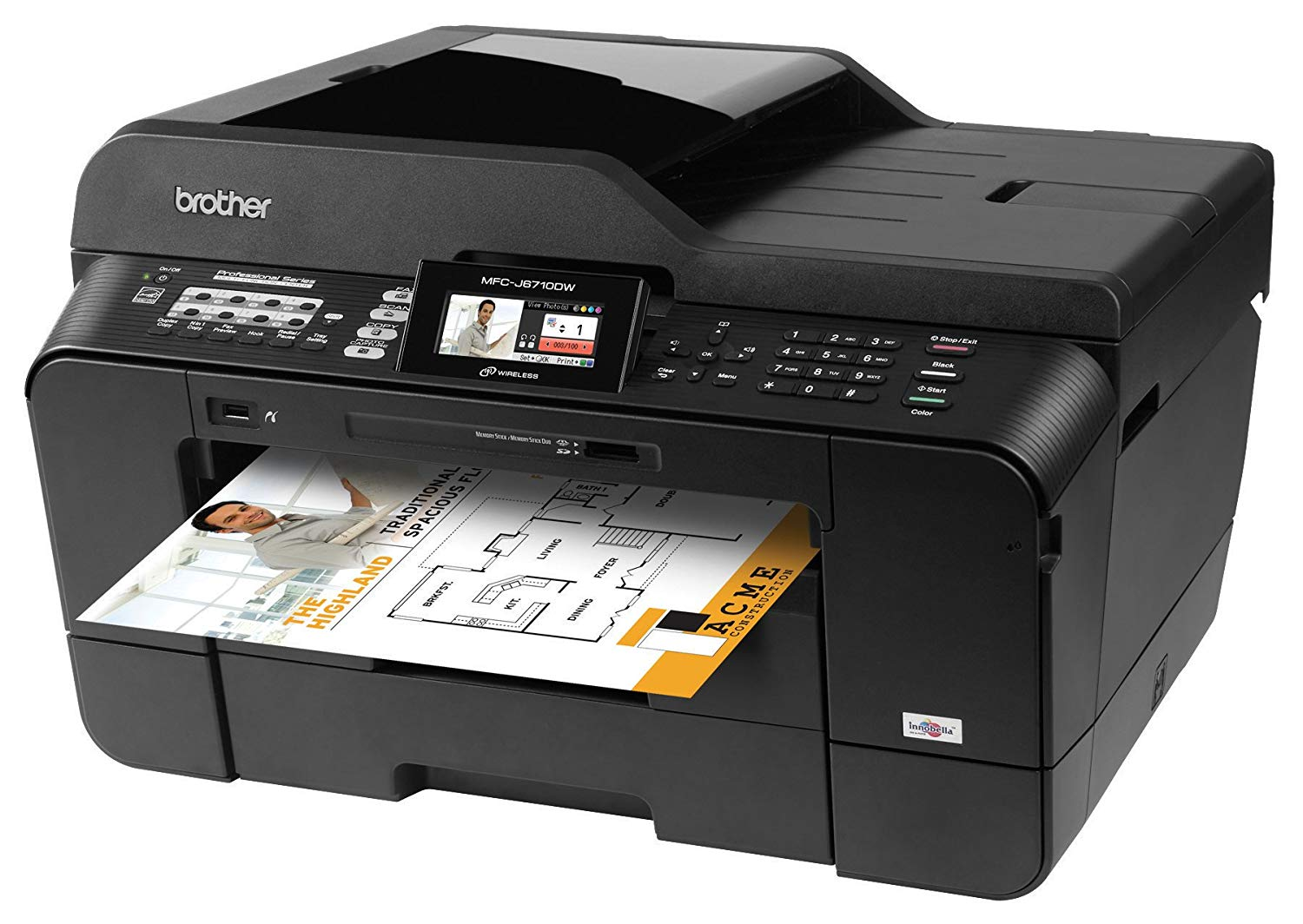 download drivers for Brother Inkjet MFCJ6710DW