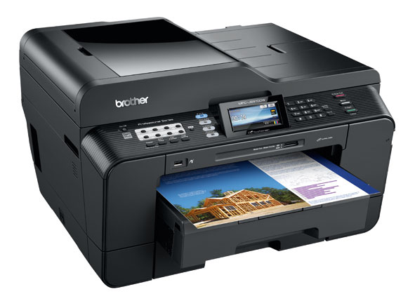 Brother Inkjet MFCJ6910DW drivers for Windows and iOS
