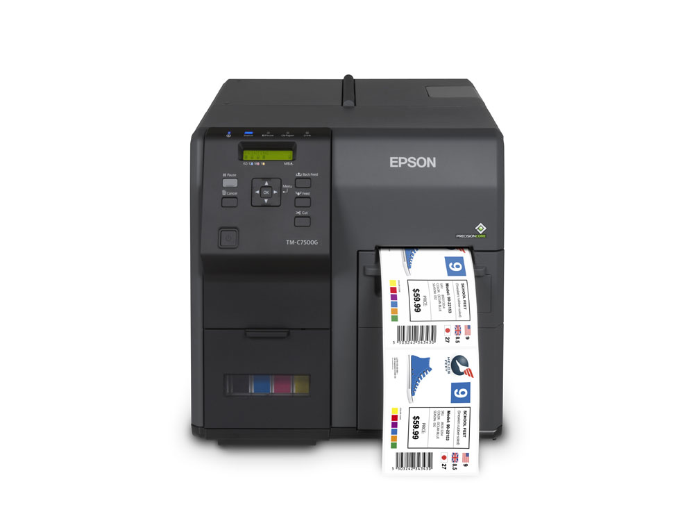epson ColorWorks C7500GE driver download for pc