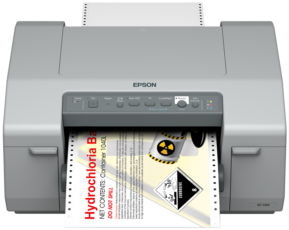 epson ColorWorks C831 driver download for pc