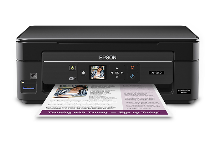 epson Expression Home XP 340 driver download for pc