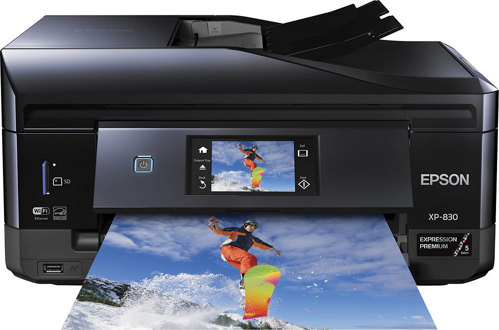 epson Expression Premium XP 830 driver download for window