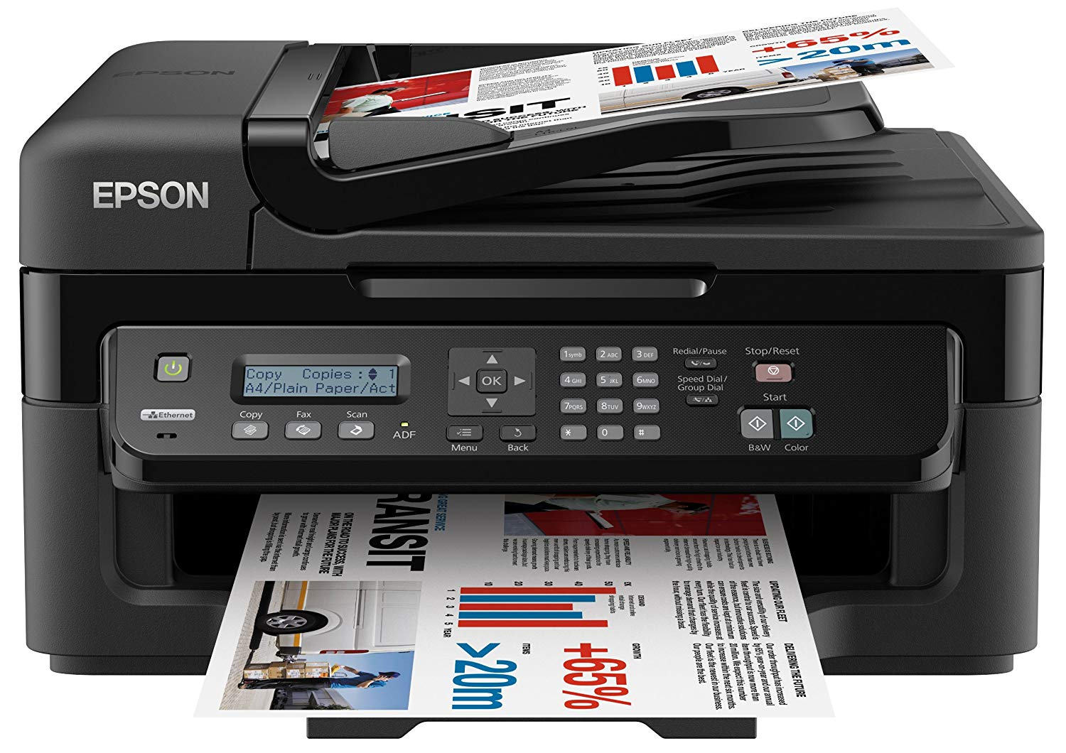 Epson WorkForce WF-2520NF driver download for pc