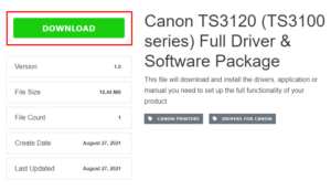How to install canon printer drivers